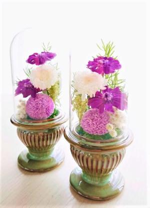7月期公開 ガラスドームのお仏壇飾り.jpg