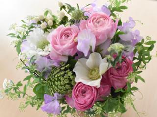 ●季節のお花で楽しむフラワーアレンジメント.jpg